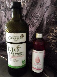 huile olive et eau de chaux