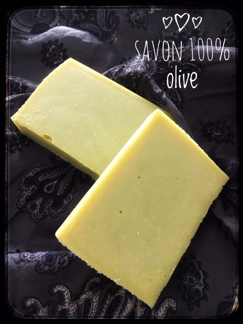 savon 100% olive